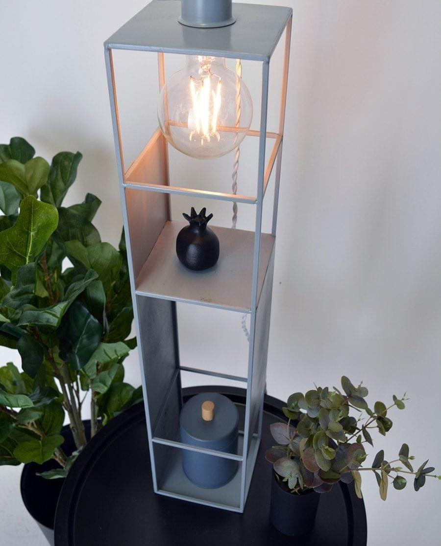 Globen Lighting Shelfie Long Grå Vegglampe-0