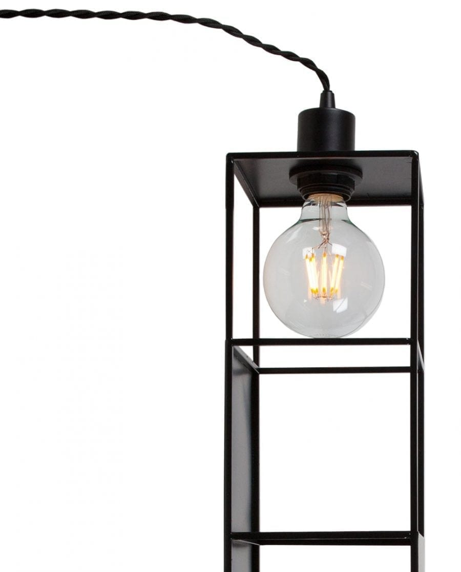 Globen Lighting Shelfie Long Sort Vegglampe-67581