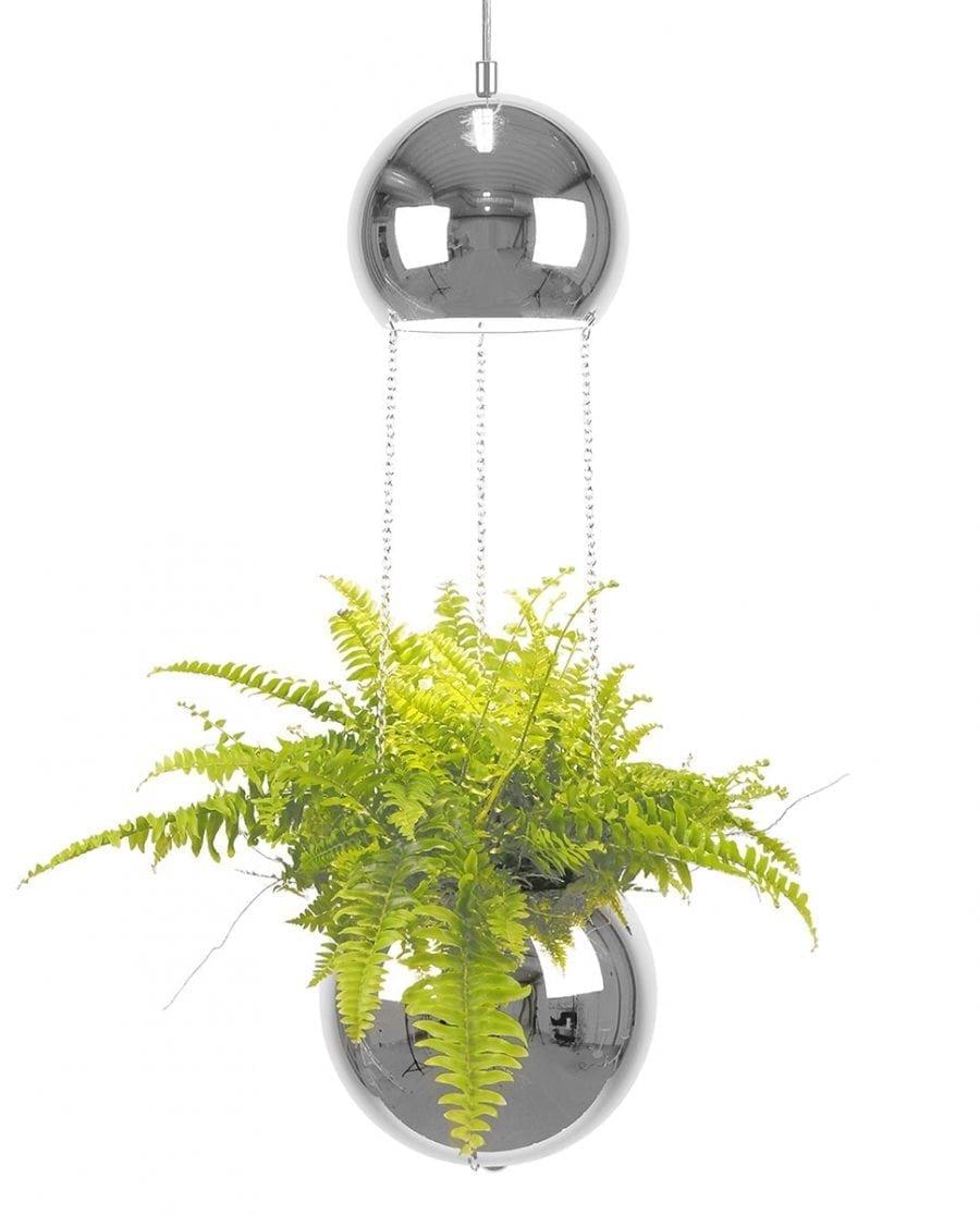 Globen Lighting Planter Krom Pendel-0
