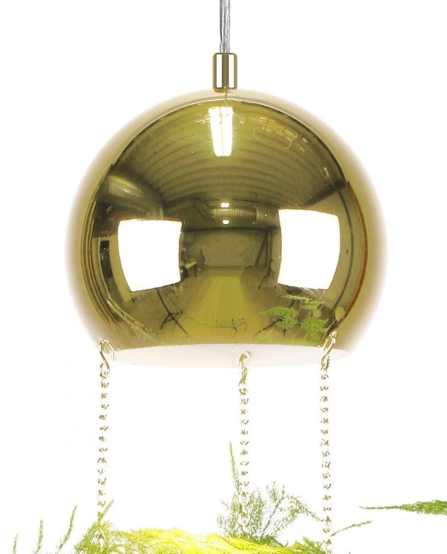 Globen Lighting Planter Messing Pendel-67785