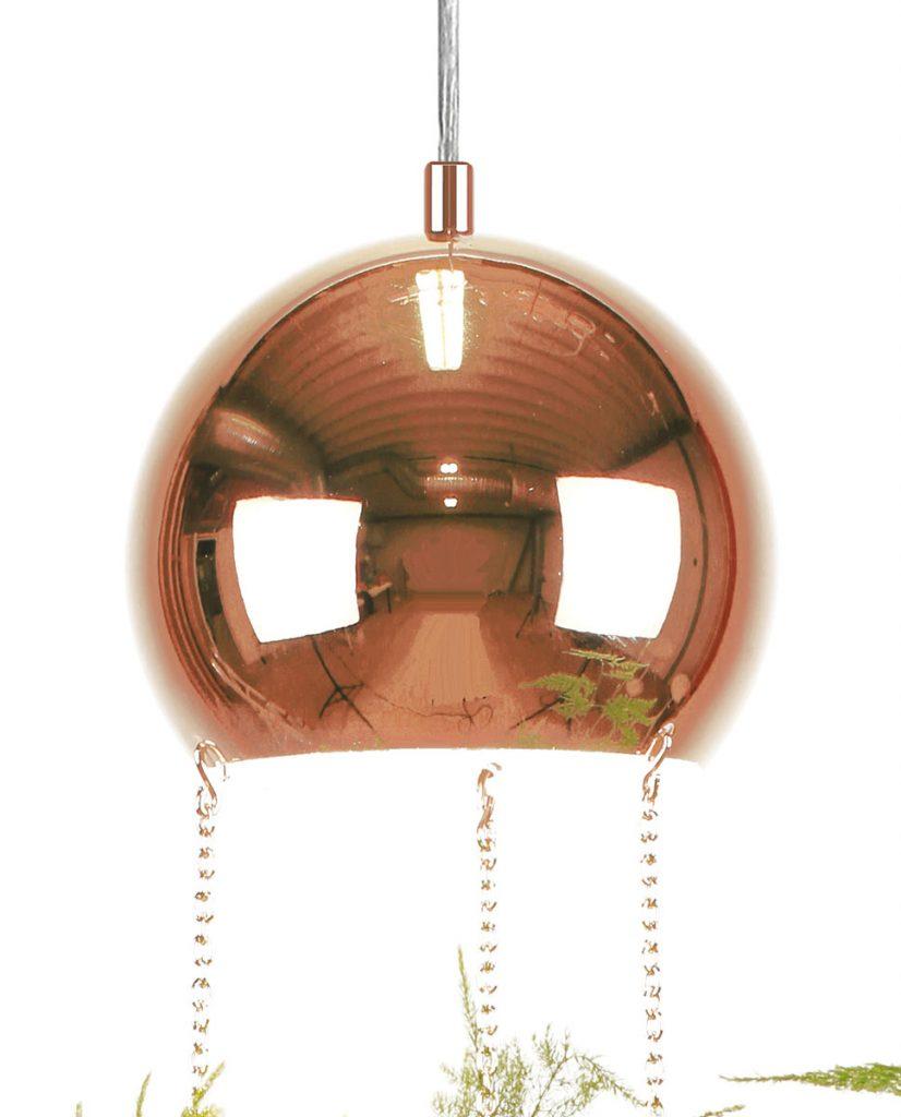 Globen lighting planter kobber pendel - Globen lighting ...