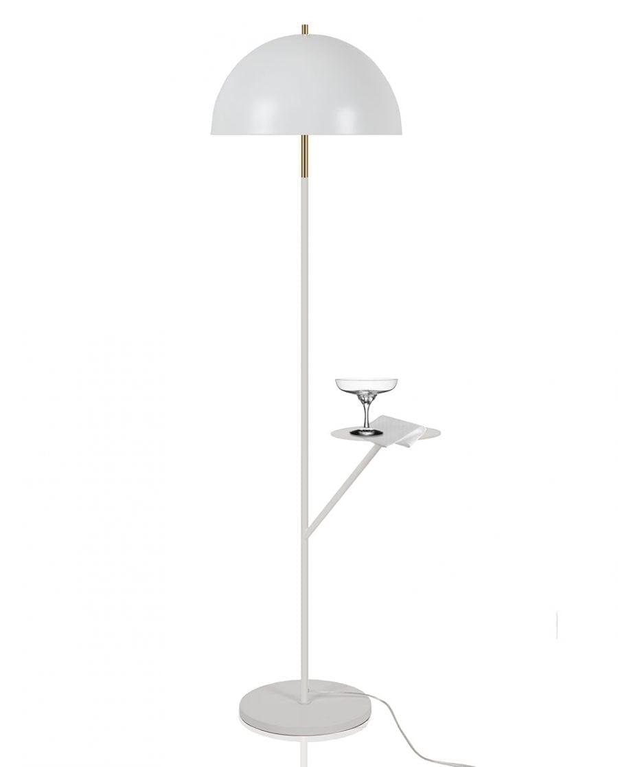 Globen Lighting Butler Hvit Gulvlampe-0