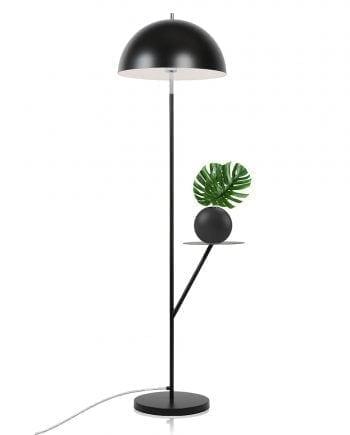 Globen Lighting Butler Sort Gulvlampe-0