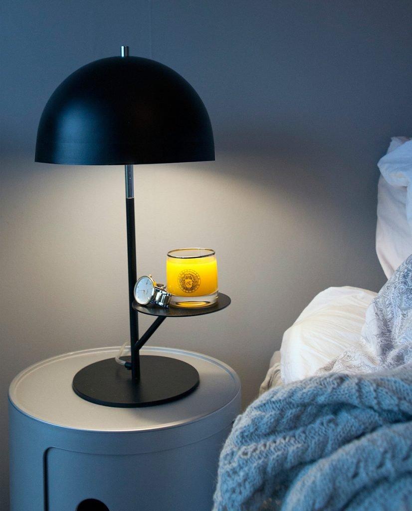 globen lighting butler sort bordlampe. Black Bedroom Furniture Sets. Home Design Ideas