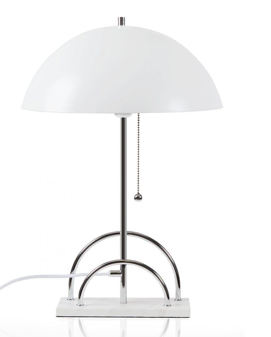 Globen Lighting Sarah Hvit Bordlampe-67670