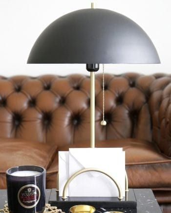 Globen Lighting Sarah Sort Bordlampe-0