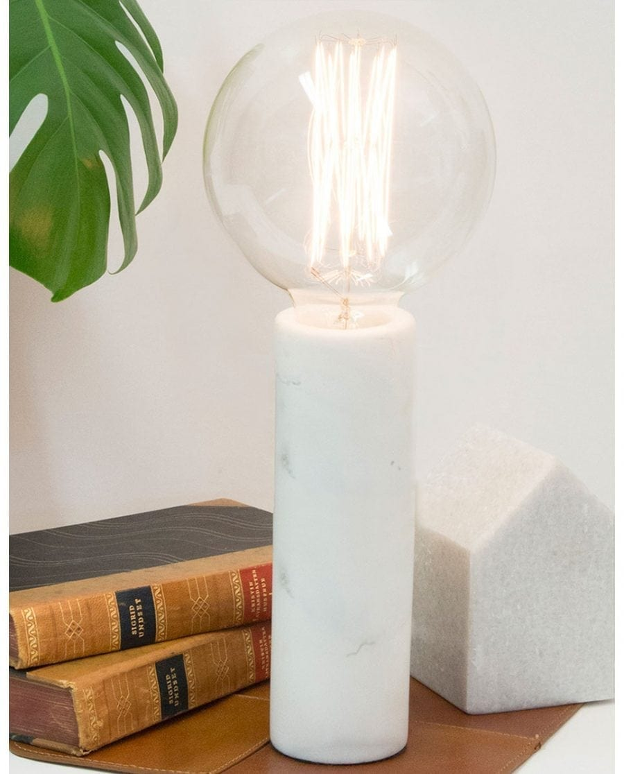 Globen Lighting Marble XL Hvit Bordlampe-0