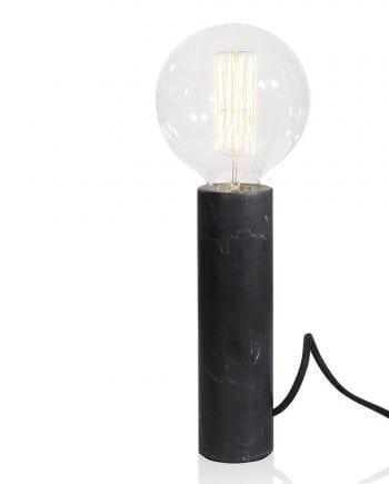 Globen Lighting Marble XL Sort Bordlampe-0