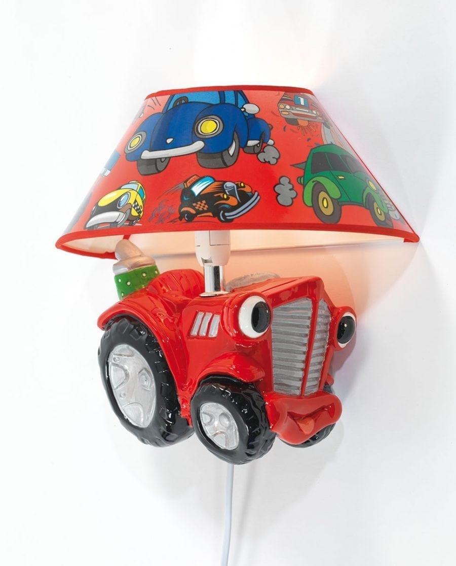 Traktor Vegglampe m/ Skjerm-0
