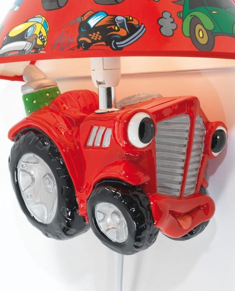Traktor Vegglampe m/ Skjerm-68262