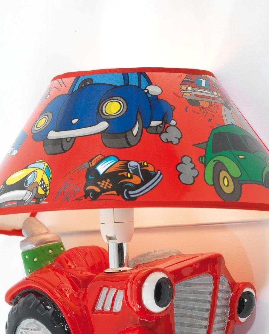 Traktor Vegglampe m/ Skjerm-68264