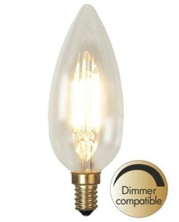 3,5W 260lm E14 Kirkekerte LED Pære Dimbar-0