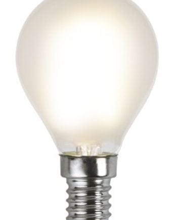 1,8W 150lm E14 LED Filament Frostet Illum Pære-0