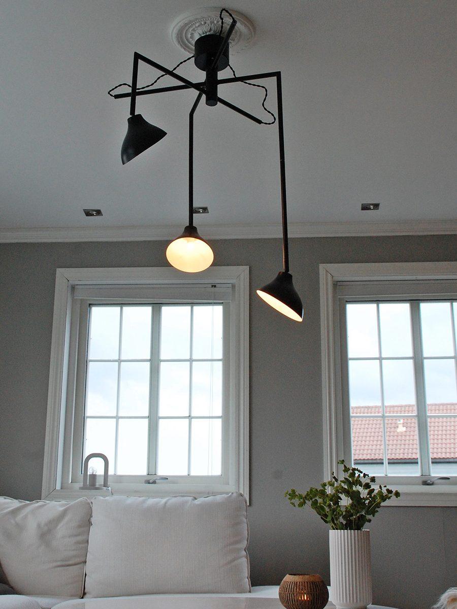 Globen lighting shift 3 sort pendel - Globen lighting ...