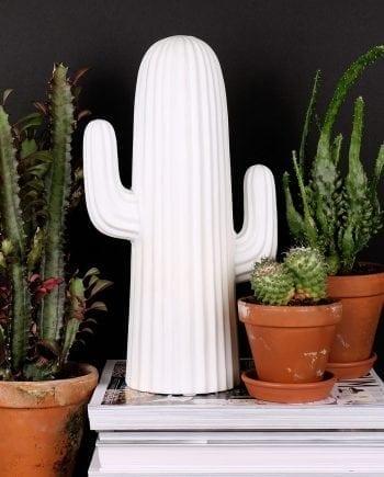 Globen Lighting Cactus Hvit Bordlampe-0