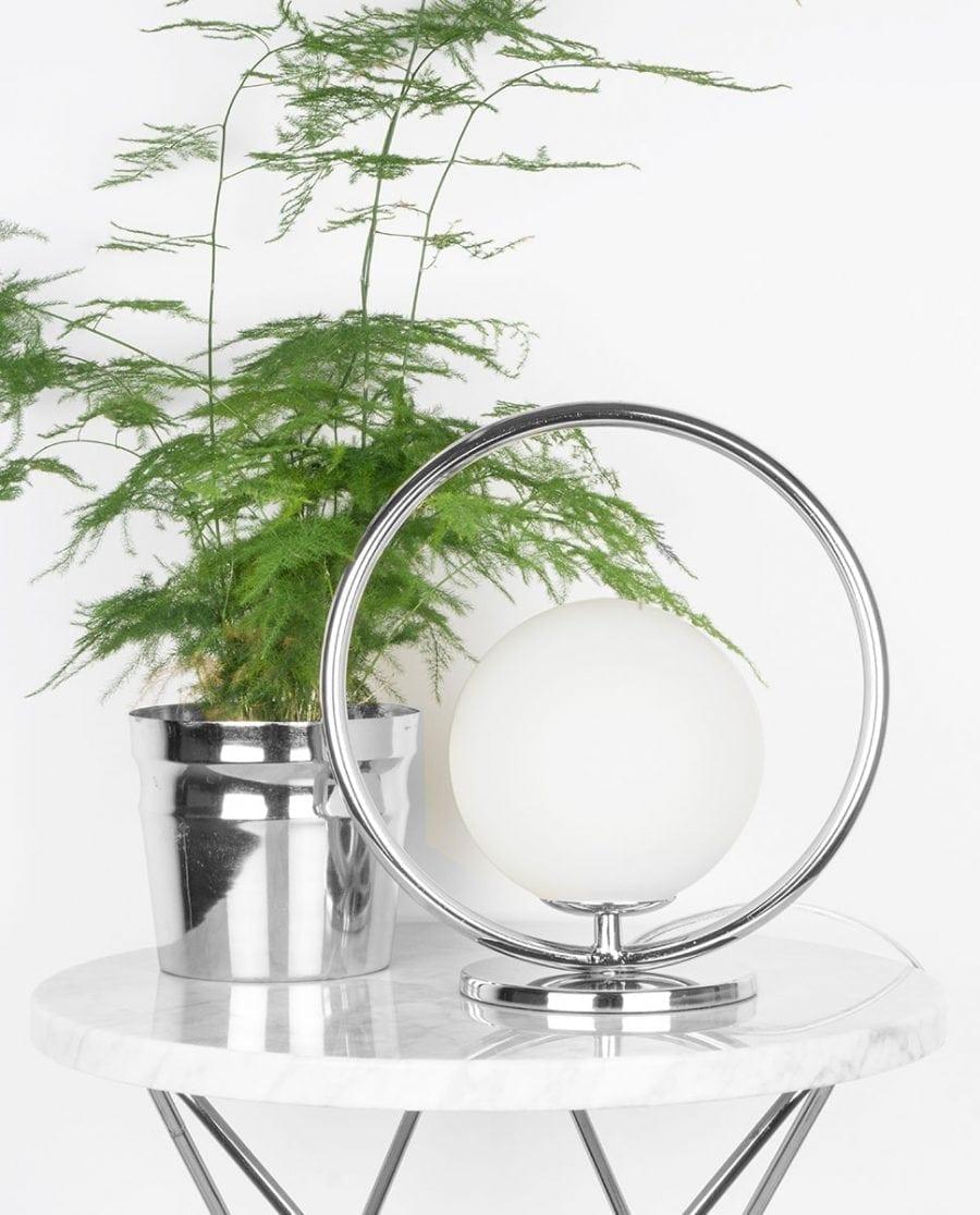 Globen Lighting Saint Mini Krom Vegg-/Bordlampe-0