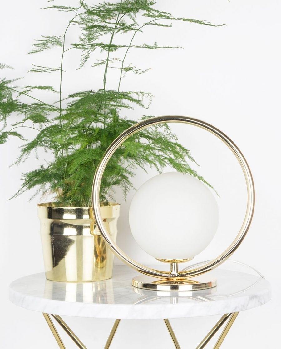 Globen Lighting Saint Mini Messing Vegg-/Bordlampe-0