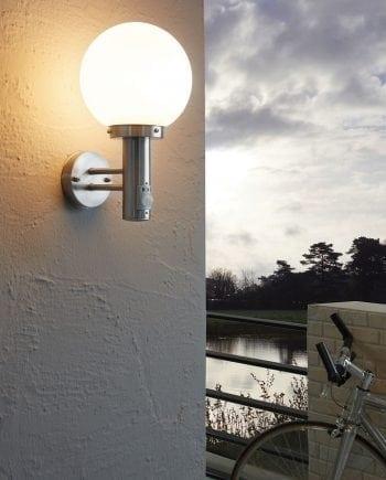 Nisia Vegglampe m/ Sensor-0
