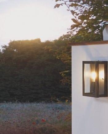 Alamonte 1 Vegglampe Sort-0