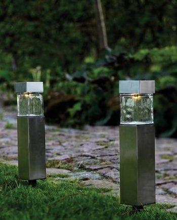 Steele LED Solcelle Markeringslys-0