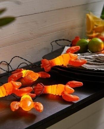 Crayfish 8 LED Kreps Batteri Lysslynge-0