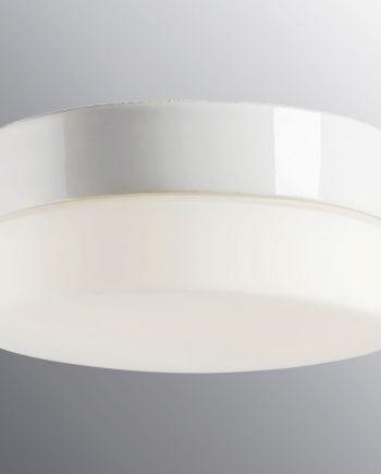 Ifö Opus 200/100 LED Vegg-/Taklampe Hvit/Grå/Sort-0