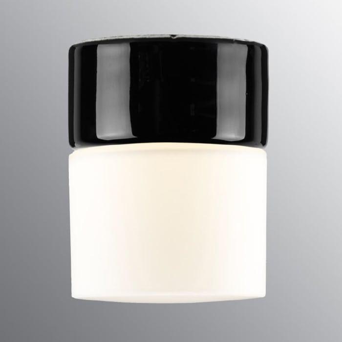 Ifö Opus 100/125 Vegg-/Taklampe Hvit/Grå/Sort-69708
