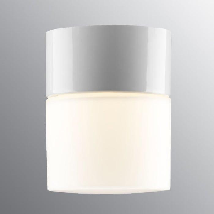 Ifö Opus 100/125 Vegg-/Taklampe Hvit/Grå/Sort-69710