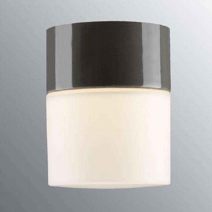 Ifö Opus 100/125 Vegg-/Taklampe Hvit/Grå/Sort-69709