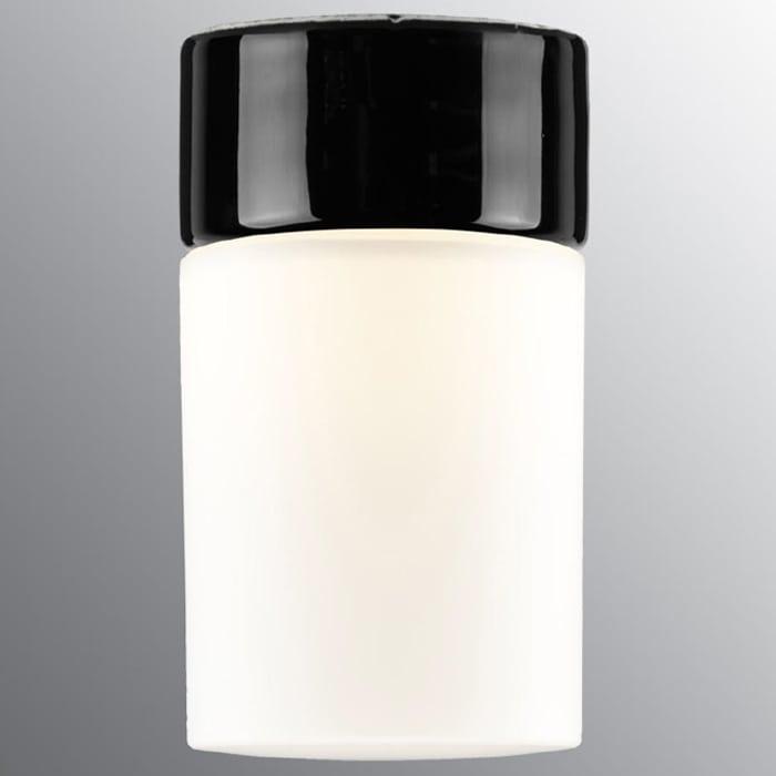 Ifö Opus 100/175 Vegg-/Taklampe Opalt Glass Hvit/Grå/Sort-69701