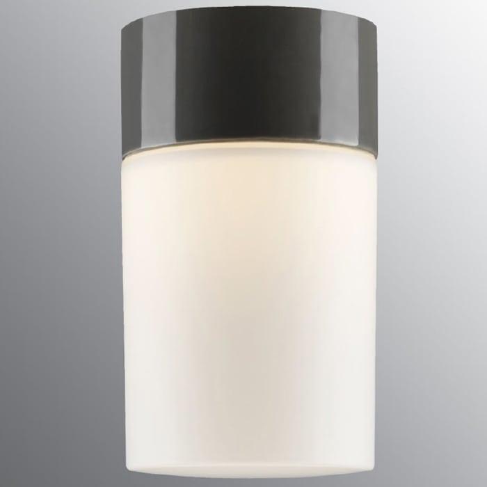 Ifö Opus 100/175 Vegg-/Taklampe Opalt Glass Hvit/Grå/Sort-69702