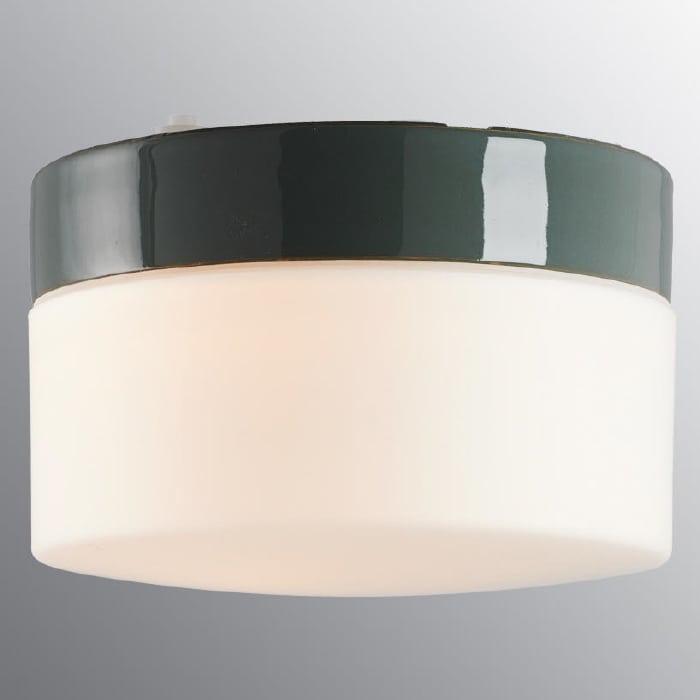 Ifö Opus 200/135 Vegg-/Taklampe Hvit/Grå/Sort-69686