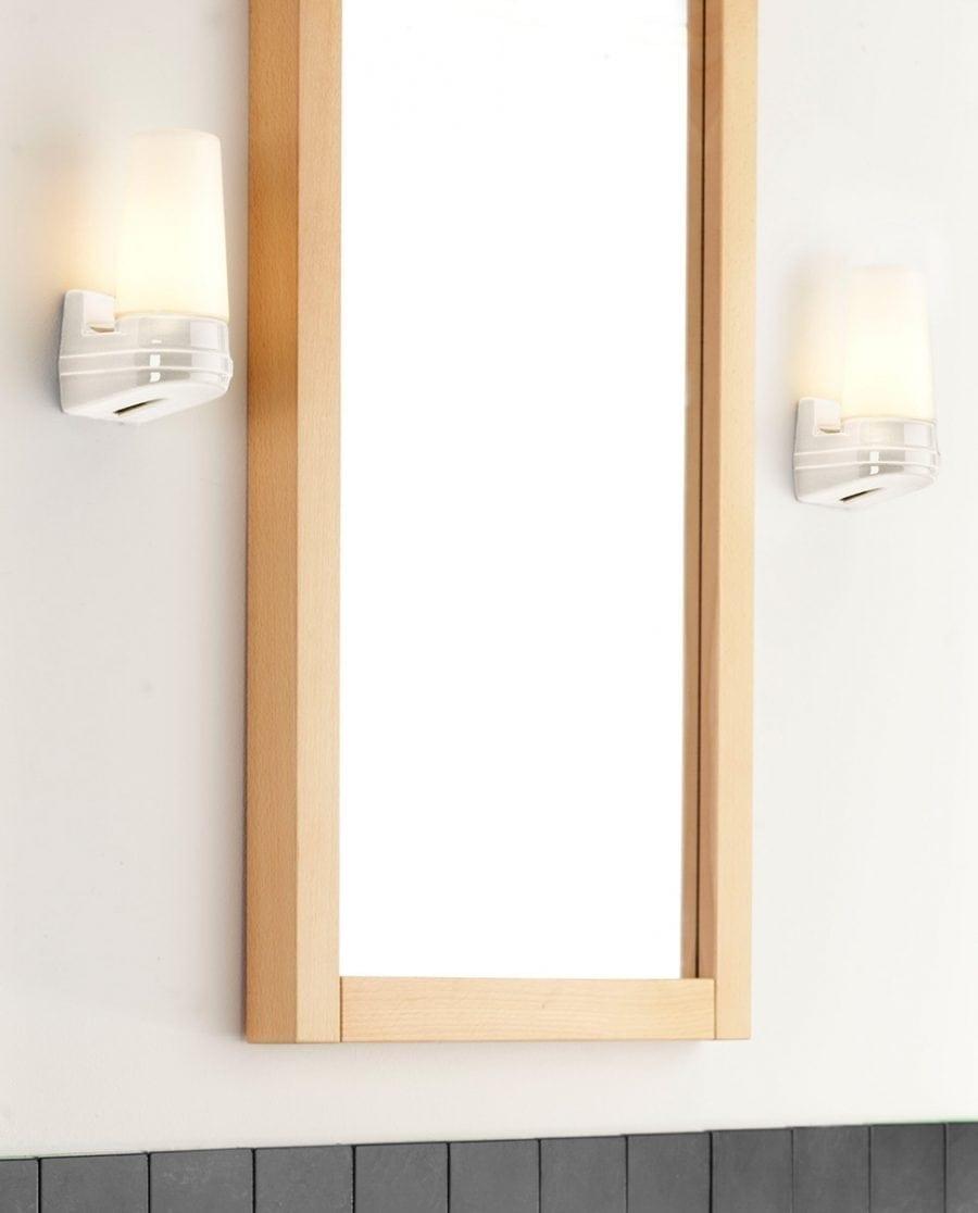Ifö Bernadotte Vegglampe Singel Hvit/Grå/Sort-0