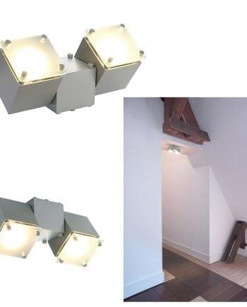 Square Dice II Vegglampe Utstillingsmodell-69947
