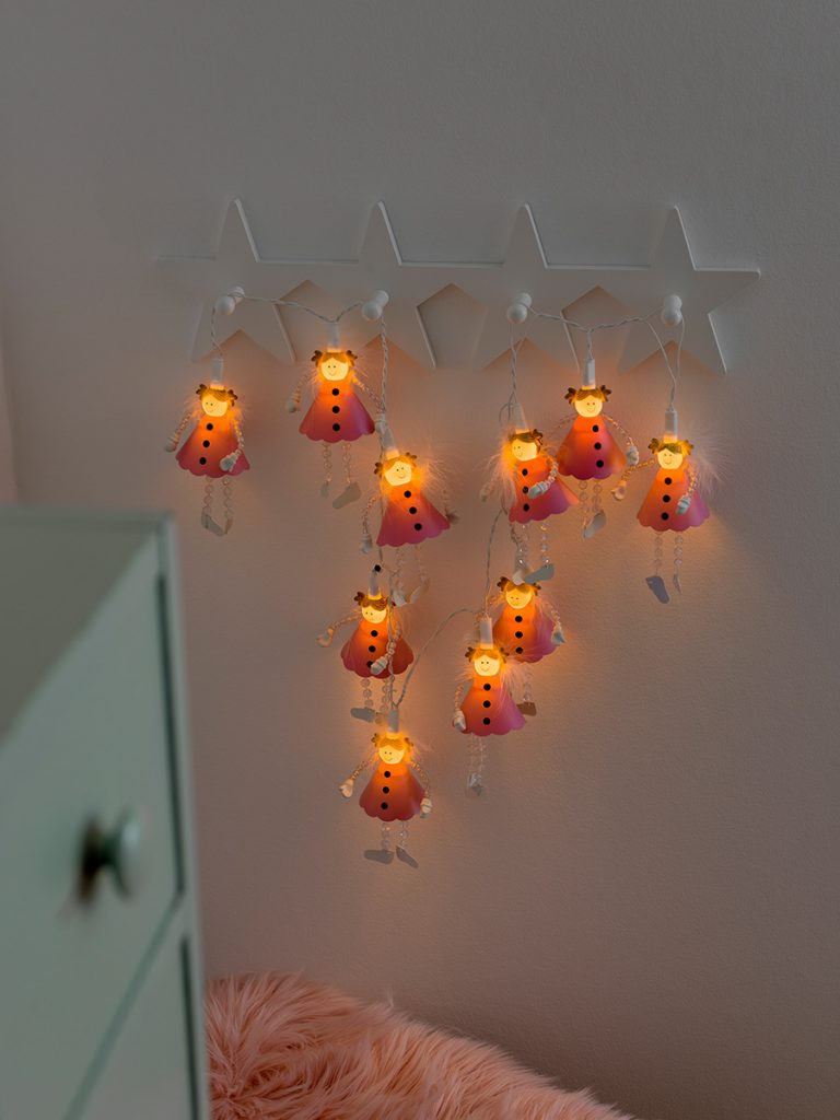 Utmerket Konstsmide Lysslynge 1448 Engler 10 LED - Designbelysning.no IU-46