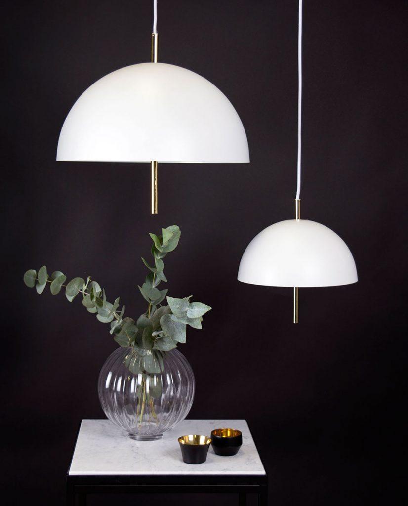 Globen lighting butler xl pendel hvit - Globen lighting ...