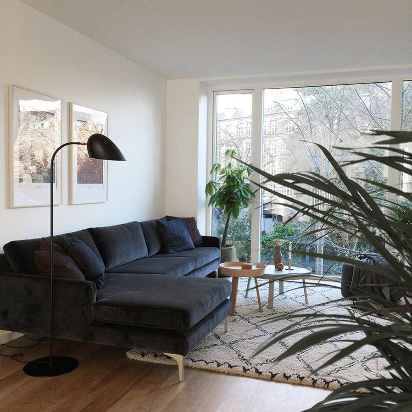 frandsen hitchcock gulvlampe. Black Bedroom Furniture Sets. Home Design Ideas