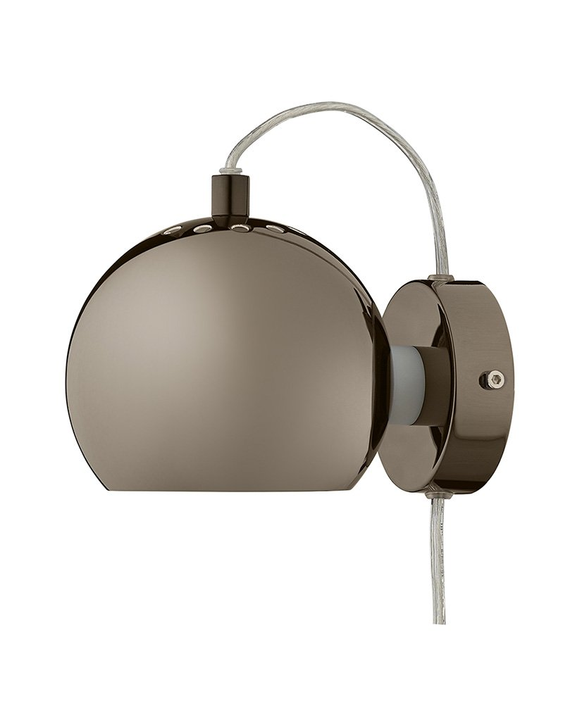 Frandsen Ball Wall Metallic Designbelysning no