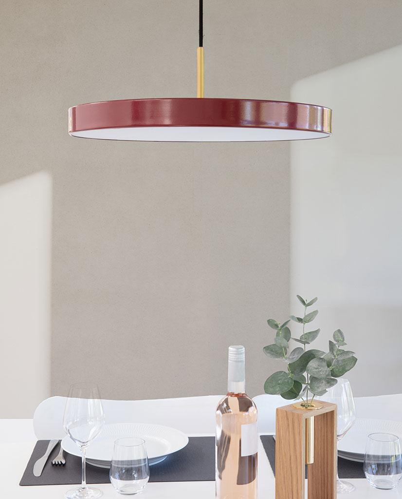 UMAGE VITA Asteria Mini LED Taklampe Ruby Red | Taklampe