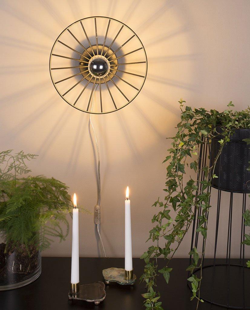 Globen lighting wheel mini plafond vegglampe - Globen lighting ...