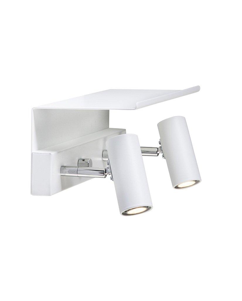 Belid Cato Hylle til Vegglampe Dobbel | Designbelysning.no