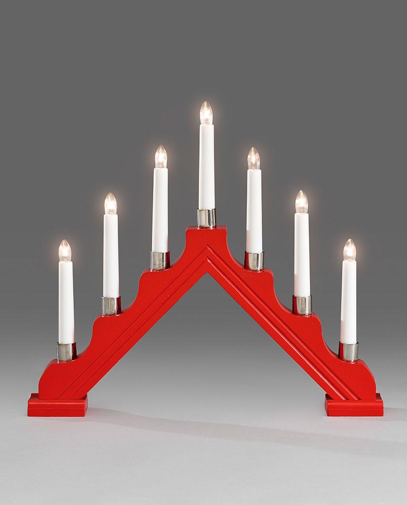 1041-510-Adventsstake-1041-Rød-7-Lys