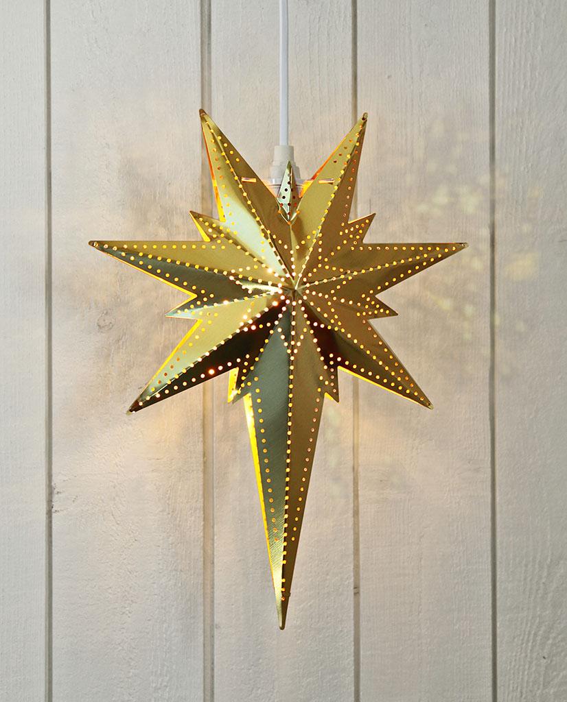 Fersk Star Trading Betlehem Adventsstjerne Messing - Designbelysning.no WX-09