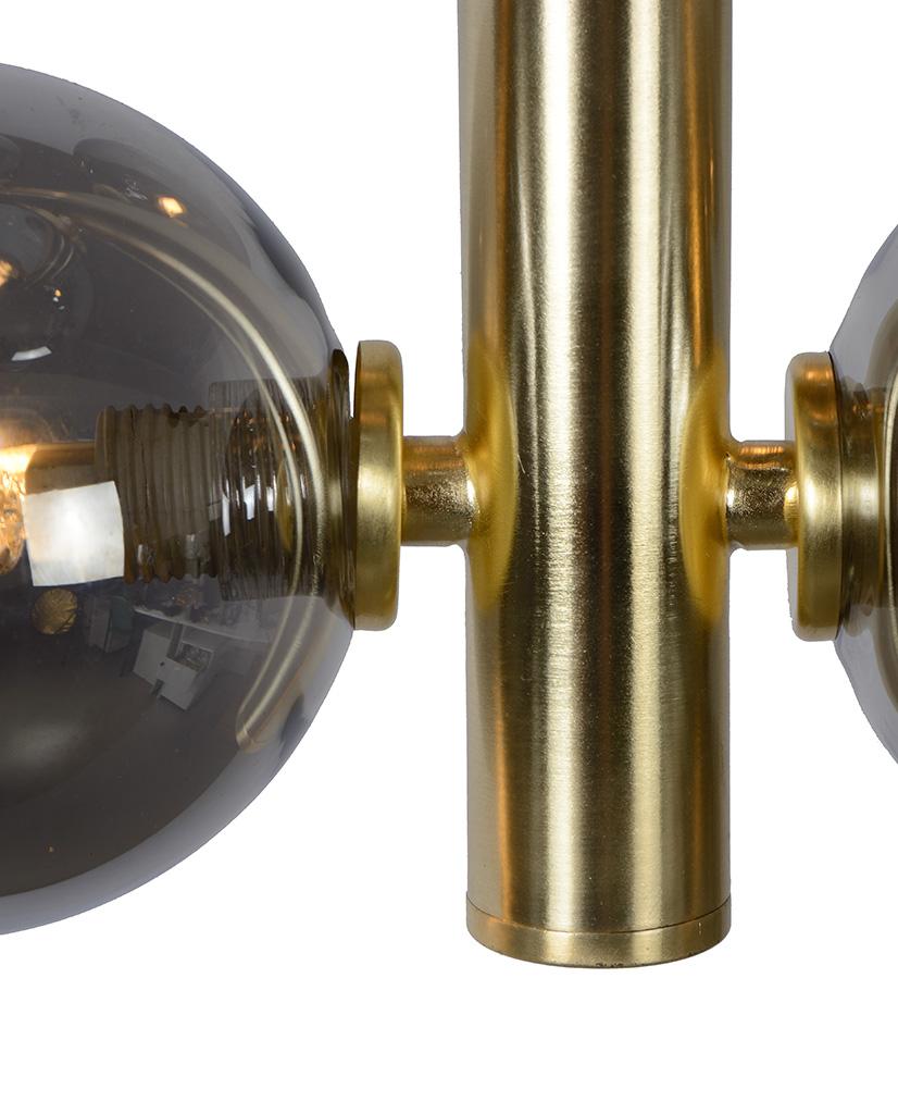 LUCIDE Tycho Taklampe 4 Lys Messing | Designbelysning.no