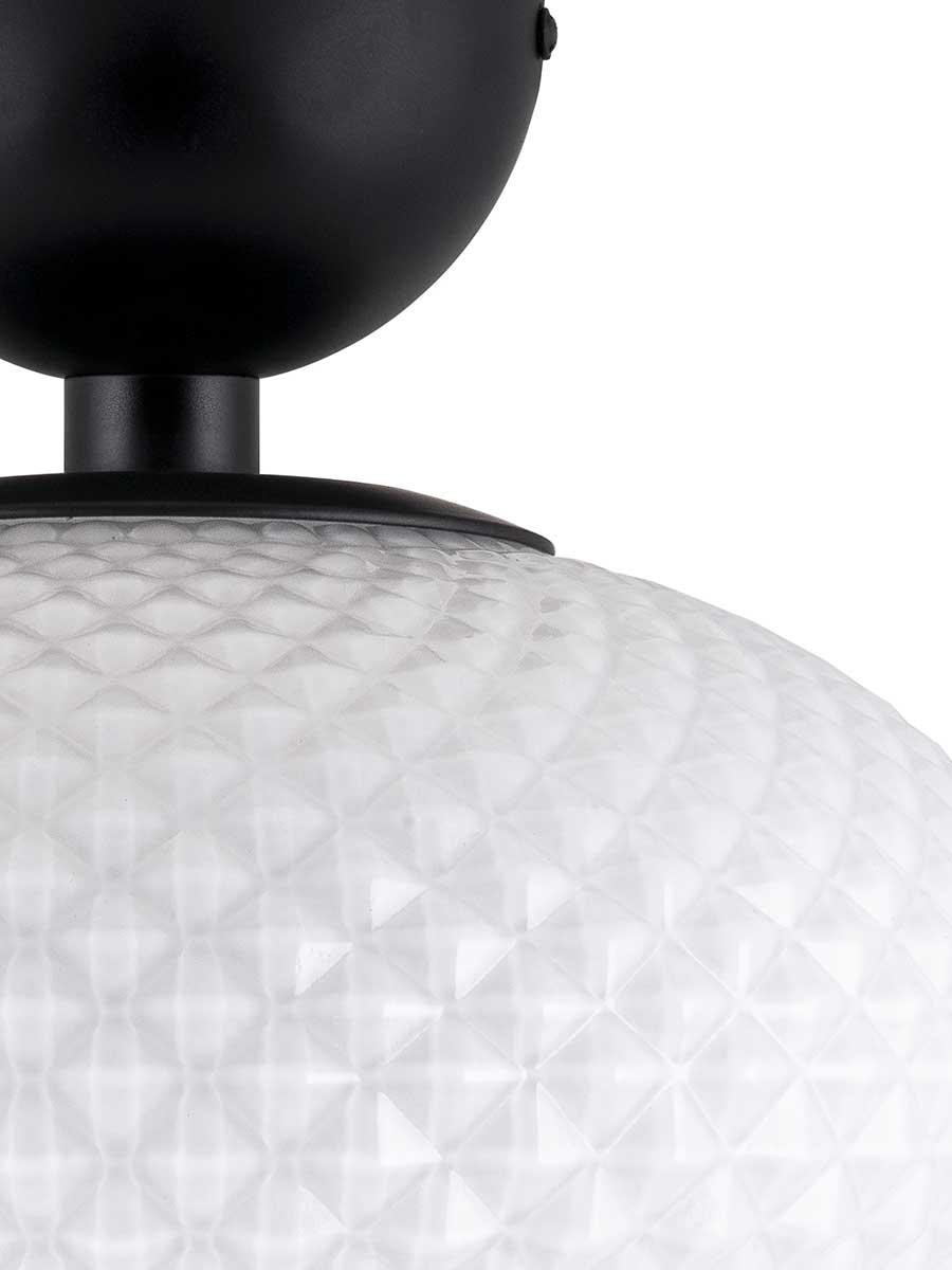 Globen Lighting Jackson Plafond Hvit/Sort