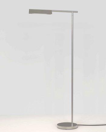 Astro Cut bord og gulvlampe, matt nikkel | Lampegiganten.no