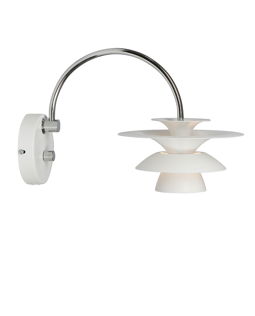 Belid Picasso Vegglampe Matt Hvit | Designbelysning.no
