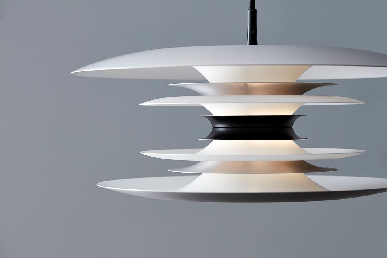 Belid Diablo Pendel AluminiumSort | Designbelysning.no i